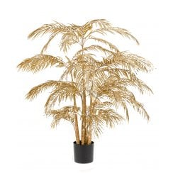 Areca Palm Tree in Gold