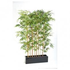 Bamboo Screen set in Fibreglass Trough