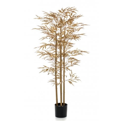 Bamboo Tree in Gold