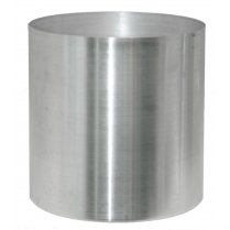 Brushed Stainless Steel Planter