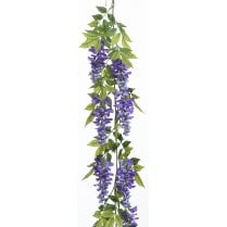 Cream or Purple Wisteria Garland