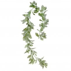 Dusty Miller and Hops Garland