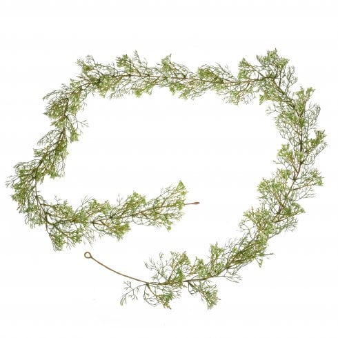 Faux Yellow or White Elderflower Garland