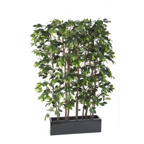 artificial ficus screen office or restaurant plants for room divider,