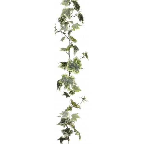 Green or Variegated Frosted Ivy Garland