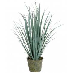 Grey, Green or Hint of Purple - Faux Sword Grass