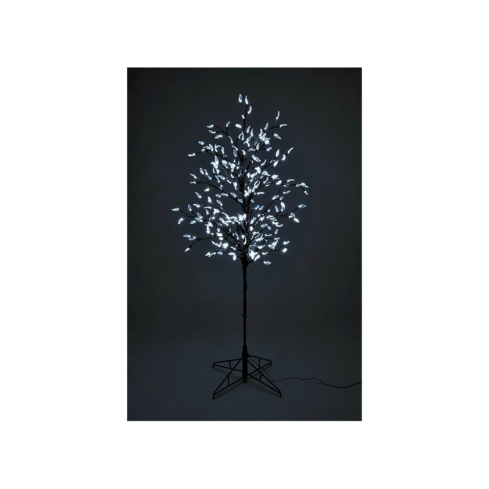 Artificial Christmas Twig Tree Chrystal Tree Pre Lit With