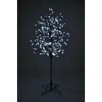 pre-lit Chrystal Leaf Tree