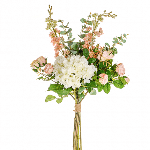 Premium Mixed Bouquet with Cream Hydrangea
