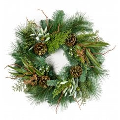 Spruce and Pine Wreath