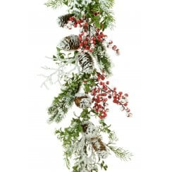 Winter Berry Garland